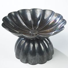 Josef Hoffmann, Silver Centerpiece for Wiener Werkststte, c1908.