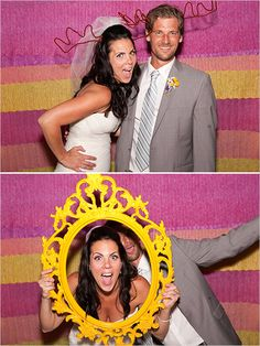super cute photo booth