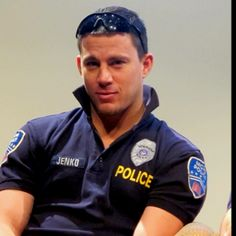 Never did think cops were hot... except that one!