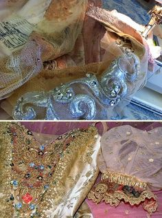 Royal Ballet Aurora alterations and Rossetti Sugar Plum bodice decoration
