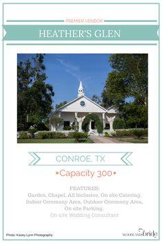 Heather's Glen - North Houston Wedding Venue Guide // WoodlandsBride.com