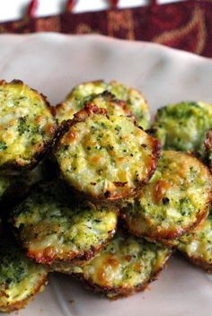 Broccoli Tots Cynthia: I hate broccoli but these are the best things ever and I could eat a dozen at a time, easily.