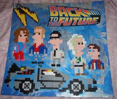 Back To The Future  Raffle perler beads by Blackshadowbutterfly on deviantart