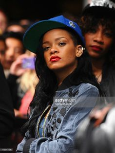 Singer Rihanna attends David Guetta performance during Day 2 of the 2012 Coachella Valley Music & Arts Festival held at the Empire Polo Club on April 14, 2012 in Indio, California.