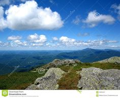Green Mountain View From Camel's Hump Summer Stock Image - Image of vermont, landmark: 59935457 Green Mountain, Mountain View, Summit View, Camels, Vermont, Clouds, Sky, Stock Photos, Mountains
