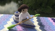 Whitchurch Bridge has been transformed with knitwork as part of a community art project.