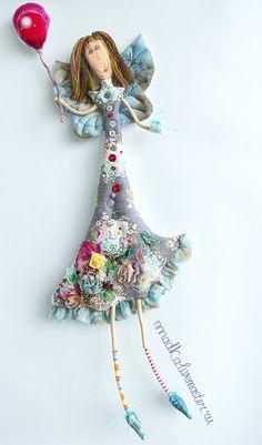 Коллекционные куклы ручной работы. Ярмарка Мастеров - ручная работа какой сегодня день`?`. Handmade.