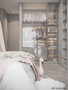 Studio › Contemporary house in Paris. Cool Kids Bedrooms, Bedroom Cupboard Designs, Home Room Design, Office Interior Design, Dream Rooms, Luxurious Bedrooms, Girl Room, Bedroom Decor, Bedroom Ideas
