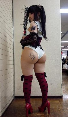 Cosplay Asian Booty via thickasians.co