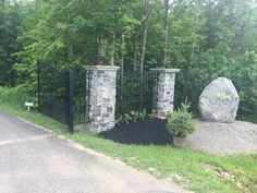 Beautiful private entry with rust proof gates. As usual there is no welding or painting needed with Amazing Gates products.