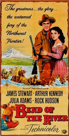 Bend Of The River (1952) - James Stewart, Rock Hudson, Arthur Kennedy