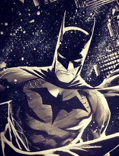 Francis Manapul's rough sketches for Detective Comics