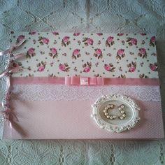 Album Shabby Chic #sweetscraperia #álbum#shabbychic #scrapdecor #scrapbooking #elo7 #craft #presente