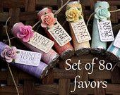 Shower or wedding favors Set of 100 Mint by BabyEssentialsByMel