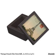Choose from a variety of Eiffel Tower gift boxes on Zazzle. Our keepsake boxes are great places to hold valuables like jewelry. French Chic, French Vintage, Paris Eiffel Tower, Keepsake Boxes, Valentine Gifts, Jewelry Box, House Design, Ideas, Home Decor