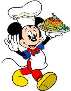 Mickey cozinheiro