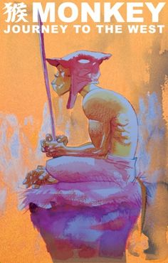 Monkey. Journey to the West. Artwork by Jamie Hewlett