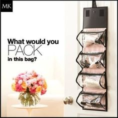 Mary Kay Travel Roll up Bag 4 Removable Pouches : Mary Kay Makeup Bag.  I keep all my  Mary Kay Makeup in this bag hanging from the bathroom door.  No more cluttered counter tops!