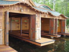 1000 ideas about boat garage on pinterest boathouse for Boat storage garage