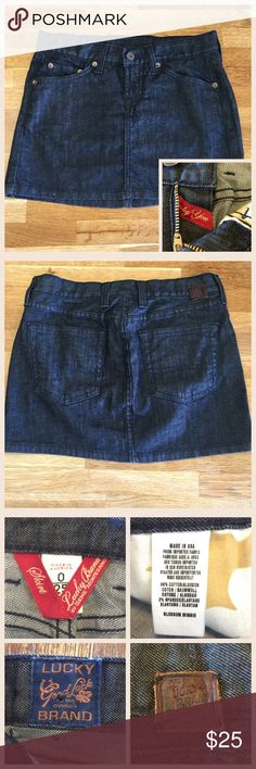 Selling this Lucky Mini Skirt on Poshmark! My username is: kt_wood. #shopmycloset #poshmark #fashion #shopping #style #forsale #Lucky Brand #Dresses & Skirts