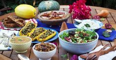 Plant-Based Thanksgiving recipes from Forks Over Knives. Might make the No-bake Cranberry Pear Tart to bring next week!