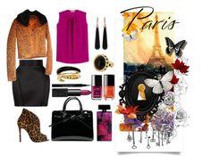 """Paris"" by mister-mister on Polyvore featuring мода, Balmain, Twin-Set, Schutz, Etro, Chanel, Elizabeth Arden, NARS Cosmetics, Givenchy и Michael Kors"