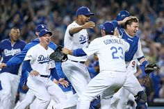 PHOTOS: Dodgers -- NLCS Bound -- it's been a LONG time and here we go!