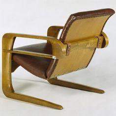 Airline Chair, Kem Weber, 1934-1935. Museum no. W.4-1991