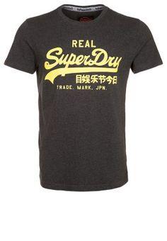 Trendiges Shirt mit Vintage-Print! Superdry VINTAGE LOGO ENTRY - T-Shirt print - charcoal marl für 22,95 € (05.12.14) versandkostenfrei bei Zalando bestellen.