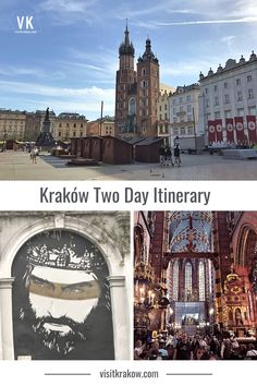 Kraków is packed with things to do, but you can still see a lot in two days. This itinerary is perfect for getting the most out of two full days, such as a long weekend. Visit Krakow, St Peter And Paul, Office Images, Street Image, Second Day, Best Places To Eat, Long Weekend, Barcelona Cathedral, The Good Place