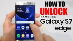 cool How to Unlock Samsung Galaxy S7 / EDGE - ANY gsm carrier