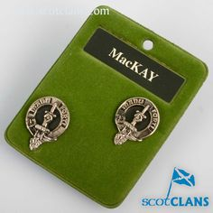 MacKay Clan Crest Cu