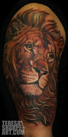 Teresa Sharpe - Lion