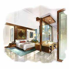 Hand rendering;; The floor amazes me, teach me how.