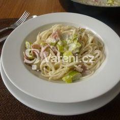 Fotografie receptu: Špagety s omáčkou z nivy