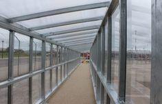 Airside Passenger Walkway | Airport Canopies