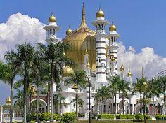 Masjid Ubudiah mosque located in Kuala Kangsar, Perak