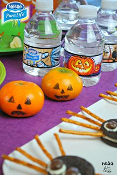 The best Halloween treats are those that are whimsical and fun. From Witches Brooms to Chocolate Cookie Spiders, try these snacks that are simple to prepare and will be the hit of your child's Halloween party. Check out Mess for Less Less for these easy recipes.