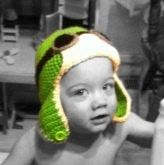 Aviator Hat by CCsCrochetCuties on Etsy, $15.00