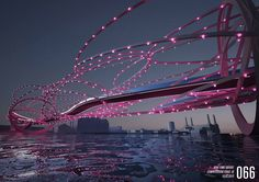 Wandsworth council in London is holding a competition, which is open to all architects from across the globe to design a new bridge over the Thames from Nine Elms to Pimlico. Rio Tamesis, Piscina Spa, Bridge Design, New London, Pedestrian Bridge, Conceptual Design, London Bridge, Brooklyn Bridge, River Thames