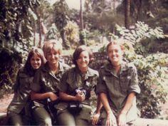 Maureen Adduci Vietnam Nurse (Far Right)