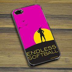 Softball iPhone/Galaxy Case Endless Softball   Softball Phone Cases