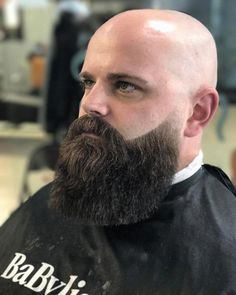 Best beard shape for men 2018 - Beard styles - Nail, FingerNail Bald Men With Beards, Bald With Beard, Great Beards, Long Beards, Awesome Beards, Popular Beard Styles, Long Beard Styles, Hair And Beard Styles, Best Beard Shape