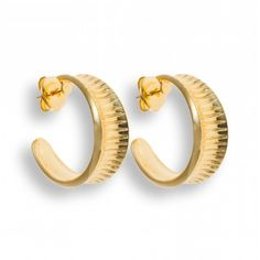 Hissia Oni Earrings ($165) ❤ liked on Polyvore featuring jewelry, earrings, gold, 18 karat gold jewelry, hand crafted jewelry, handcrafted earrings, handcrafted jewelry and 18k earrings