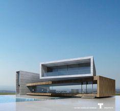 "13.3 mil Me gusta, 44 comentarios - Architecture & Design (@_archidesignhome_) en Instagram: ""Project by @arthectonica Luxury Villa Golf Concept 7(2010). Teotimo Architect (Tenerife-Canary…"""