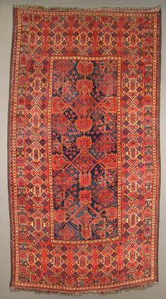 Turkmen Ersari Beshir carpet, 19th century