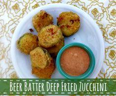 Orchard Girls: WWEW: Beer Batter Deep Fried Zucchini w/ Special Sauce