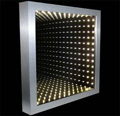 36 inch square infinity mirror