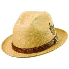 627c427bc13 Carlos Santana Sacred Fire Panama Fedora with a beautiful satin lining. Hot  unique faux leather