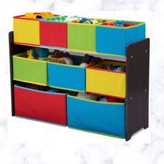 Kids Storage Bins, Decorative Storage Bins, Toy Storage Boxes, Toy Bins, Toy Bin Organizer, Toy Organization, Organizers, Bookshelves Kids, Delta Children